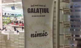 Advertising de Covurlui: un hipermarket din Galați își enervează clienții chiar de la intrare